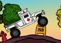 Ambulance Frenzy Flash Games