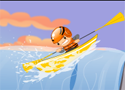 Upstream Kayak Game