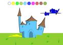Váras színezős Game