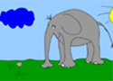 Elephant Paint Game
