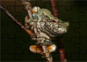 Gray Treefrog Puzzle Game