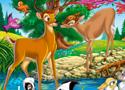 Hidden Numbers Bambi Game