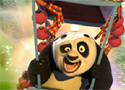 Kung fu Panda - Fireworks Cart Racing Games