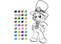 Coloring Mario Game