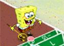 Spongebob Shuffleboard Game