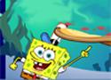 SpongeBobs Pizza Toss Game