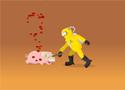 Swine Flu Hamdemic Game