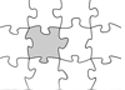 White Jigsaw Game
