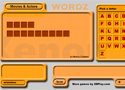 Words in English flash Game